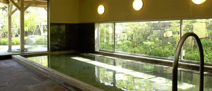 白壁の湯[大浴場]室内   山口県萩市 北門屋敷